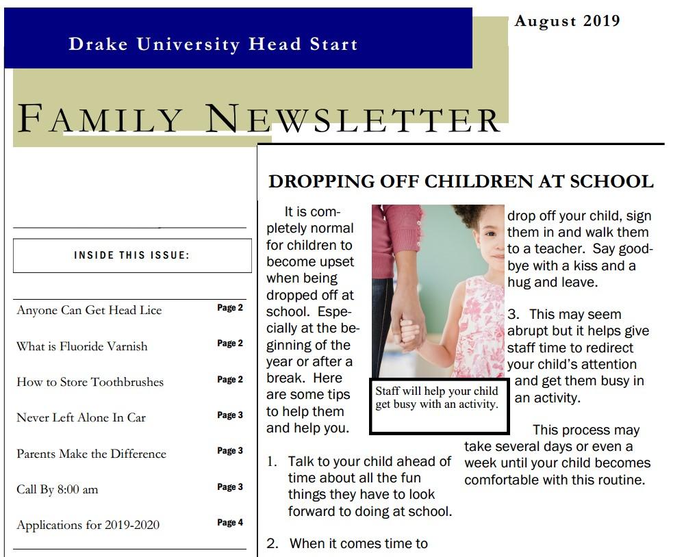 Drake University Head Start – Better preparing young children and